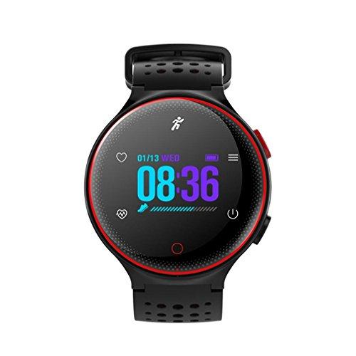 X2 Sports Smart Watch Heart Rate Blood Pressure Monitor Waterproof Bracelet by Sunfei (Red) by ®Sunfei (Image #5)