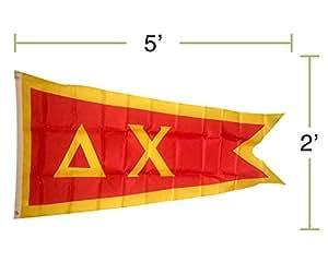 Delta Chi capítulo de la Fraternidad bandera 2x 5poliéster uso como un banner