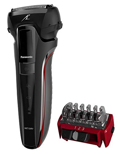 Panasonic ES-LL21 Hybrid Wet & Dry Electric 3-Blade Shaver with Trim Attachment