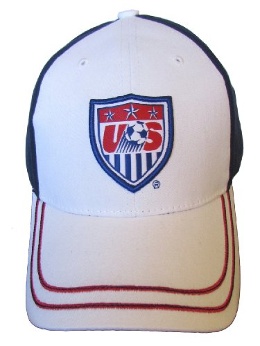 USA 2014 Team Patch Navy/White Two Tone Brim Adjustable Buckle Hat/Cap