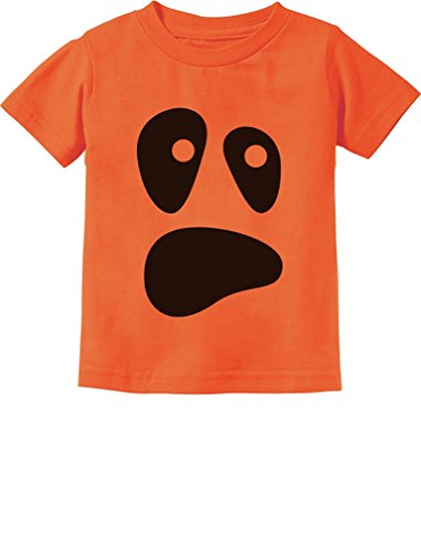 [TeeStars - Funny Ghoul Face Halloween Ghost Costume Toddler/Infant Kids T-Shirt 3T Orange] (Ghost Halloween Costumes For Toddlers)