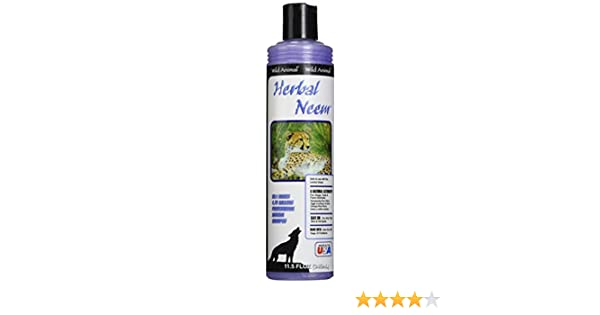 : Amazon.com: Wild Animal Herbal Neem 50:1 Shampoo, 11.7 fl. oz.