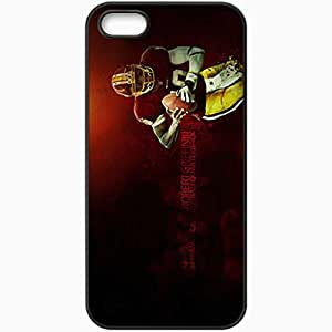 Personalized iPhone 5 5S Cell phone Case/Cover Skin 14399 robert griffin lll copy Black