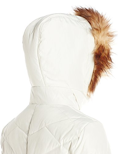 Ivory Jessica Belt Details Large Down and Simpson Coat Women's with Panel Side r6rXOv