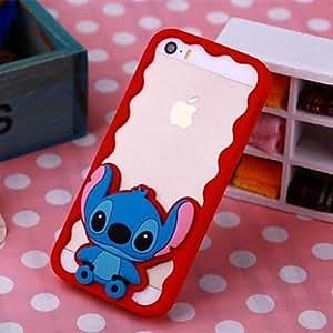 Mini - Specially Designed Silicone Soft Case for iPhone 5/5S , Color: Purple