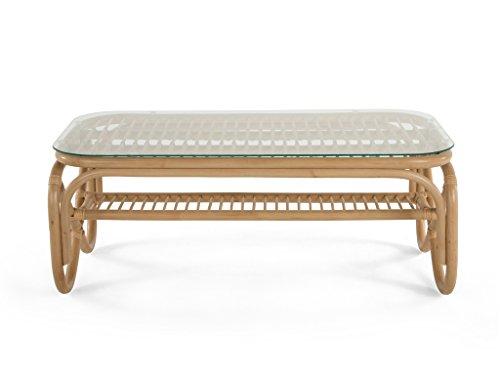 Kouboo 1110066 Rattan Coffe Table, Natural