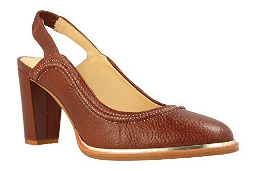 26132003 Brown Marron Ellis Chaussures Ivy Clarks 7O6SZ