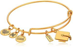 Alex and Ani Graduation Cap 2017 Rafaelian Gold Bangle Bracelet