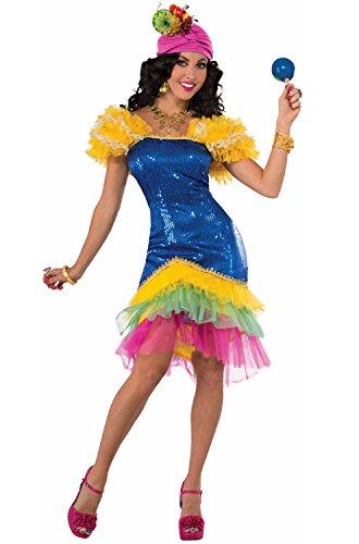 Forum Novelties Women's Cha-Cha Costume, Multi,