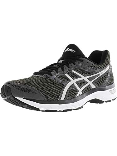 ASICS Men's Gel-Excite 4 Running Shoe, Carbon/Silver/Black, 9.5 M US