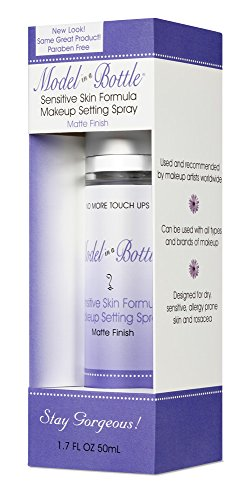 Model in a Bottle Make Up Setting Spray for Sensitive Skin