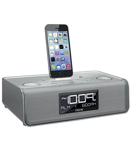 iHome Lightning Charge iPhone Silver