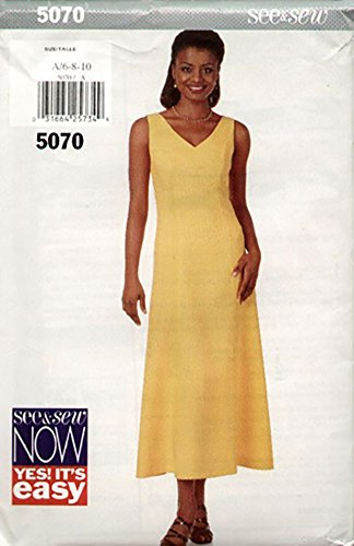 60s party dress pattern - 8
