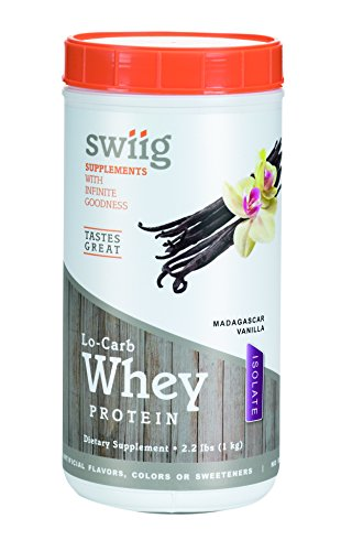 swiig Lo-Carb Whey Protein Isolate Vanilla 2.2lbs For Sale