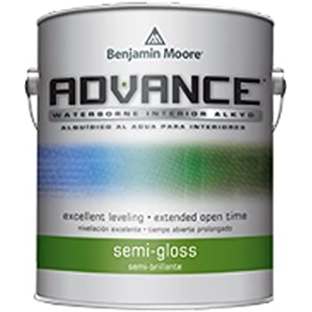 advance waterborne interior alkyd paint semi gloss finish 793