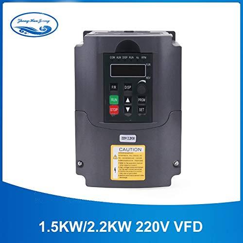 Power Inverter - 2.2kw Inverter HJ 220v 2.2kw VFD Variable Frequency Drive VFD Inverter 400Hz 10A VFD Inverter 1HP Input 3HP Frequency Inverter
