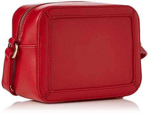 Love Moschino Borsa Calf Pu Rosso - Borse Baguette Donna, (Red), 8x13x18 cm (B x H T)