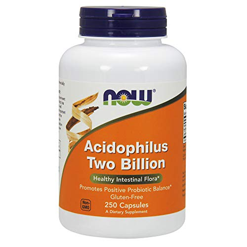 (NOW Acidophilus Two Billion,250 Capsules)