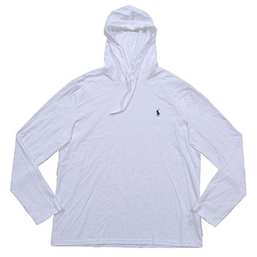 Polo Ralph Lauren Mens Jersey Knit Hoodie Tee (Large, - Polo Customer Lauren Service Ralph