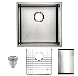 Frigidaire undermount stainless steel kitchen sink 10mm radius frigidaire undermount stainless steel kitchen sink 10mm radius corners 16 gauge deep basin workwithnaturefo