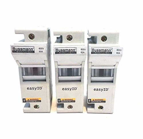 3 NEW BUSSMANN CH60J1 FUSE HOLDERS by Generic