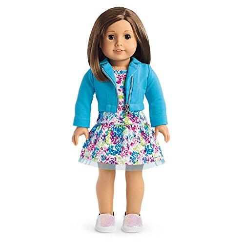 American Girl - 2017 Truly Me Doll: Light Skin, Short Brown Hair, Brown Eyes - Girl Brown Haired