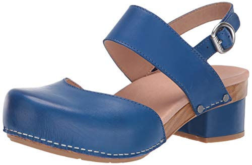 - Dansko Women's Malin Sandal, Cobalt Burnished Calf, 42 M EU (11.5-12 US)