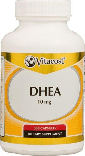 Capsules 300 Mg 10 (Vitacost DHEA -- 10 mg - 300 Capsules - 3PC)