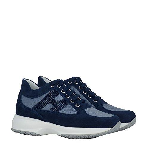 Hogan Sneakers Donna HXW00N020118SJU800 Camoscio Blu
