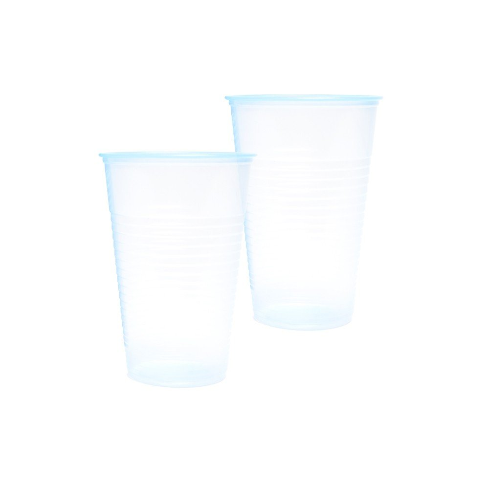 7oz CLEAR WATER CUPS - 1000