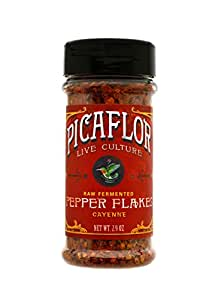 Picaflor Organic Cayenne Pepper Flakes - You'll Love the Bold Flavor from Our Seasonings (Net. Wt. 2.4oz)