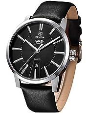 BENYAR Herren Armbanduhr Japanisches Quarzuhrwerk - 30M wasserdichte Herrenuhr