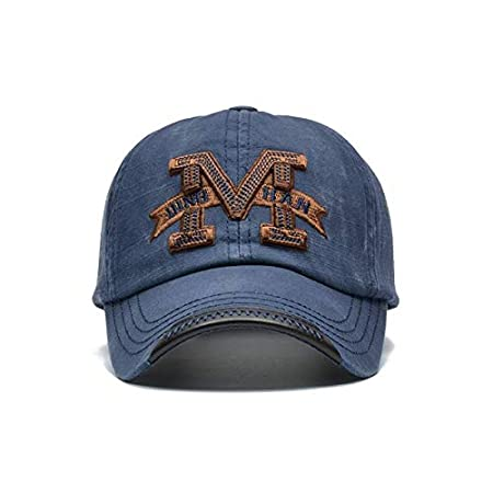 JINRMP Fashion M Letter Baseball Cap Men and Women Snapback Caps Qualiy Cotton Summer Cap