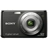 Sony Cyber-shot DSC-W230 12.1 MP Digital Camera with 4x Optical Zoom and Super Steady Shot Image Stabilization (Black) At A Glance Review Image