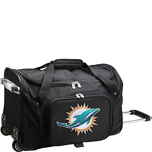 NFL 22'' Rolling Duffel Miami Dolphins by TableTop King