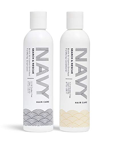 NAVY Hair Care Search and Rescue Gift Pack – Shampoo + Conditioner (The Search & Rescue Kit)