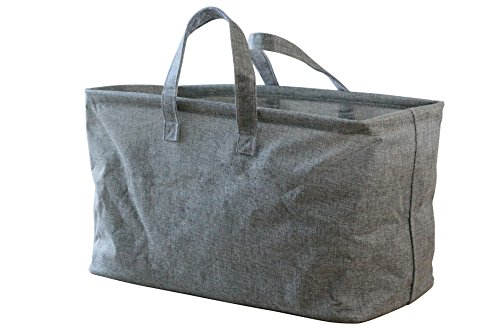In This Space Twill Boat Storage and Laundry Tote (Grey) by In This Space