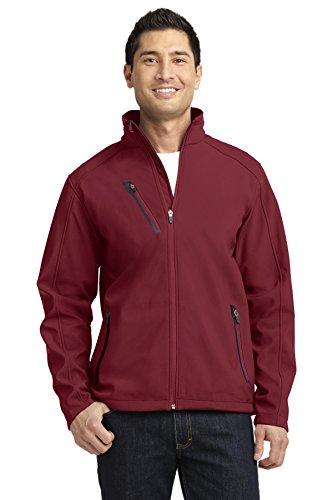 Port Authority Welded Soft Shell Jacket. J324 Garnet 2XL