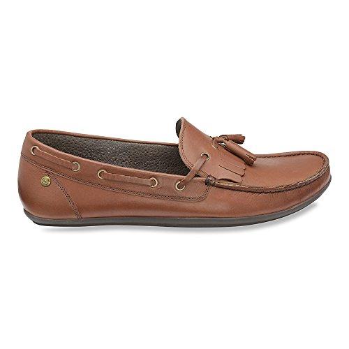 Frank Wright Mens Nevis Ii Mocassins Chaussures Marron