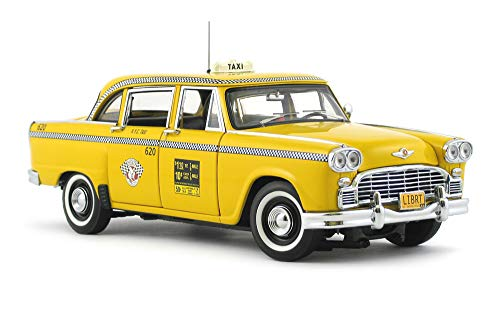 Franklin Mint 1963 NYC Checker Cab 1:24 Scale Hand Assembled NIB