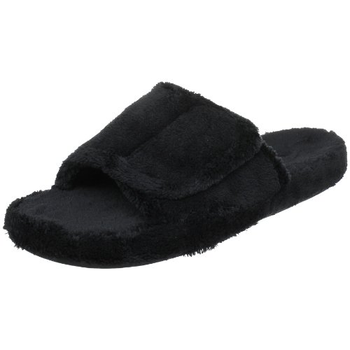 ACORN Men's Spa Slide,Black,Large (10.5-11.5 M US) Spa