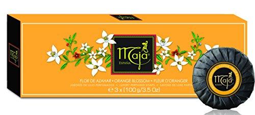 Maja Soap Set, Orange Blossom Fleur D' Oranger, 10.5 Ounce