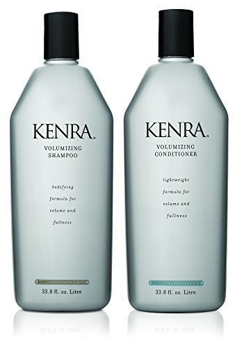 (Kenra Volumizing Shampoo and Conditioner Set, 33.8-Fluid-Ounce)