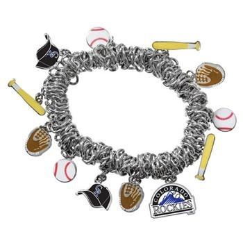 Game Time Offical MLB COLORADO ROCKIES Stretch Bracelet