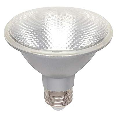 Westinghouse Lighting 5004100 10 75 PAR30S Neck Dimmable Outdoor Bulb Energy Star, Medium Base 65 Watt Indoor Equivalent LED Flood Light, Clear