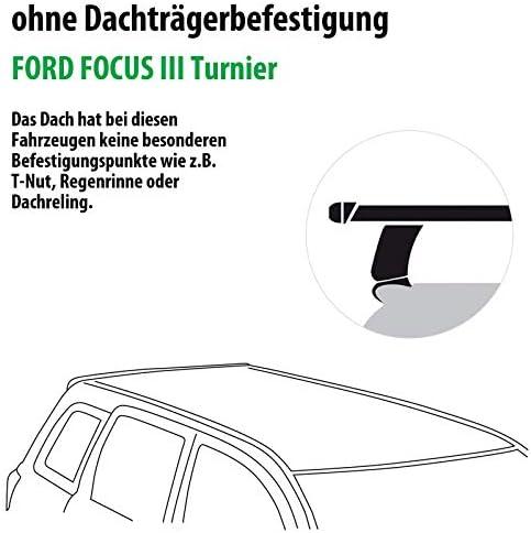 Rameder Komplettsatz Dachträger Tema Für Ford Focus Iii Turnier 118788 09157 2 Auto