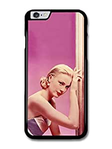 Grace Kelly Portrait in Pink Actress Princess case for iphone 6 4.7