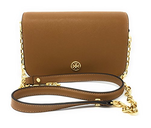 Whipstitch Eye Body Chain Bag Tigers Logo Cross Tan Adjustable xIqrIZ0