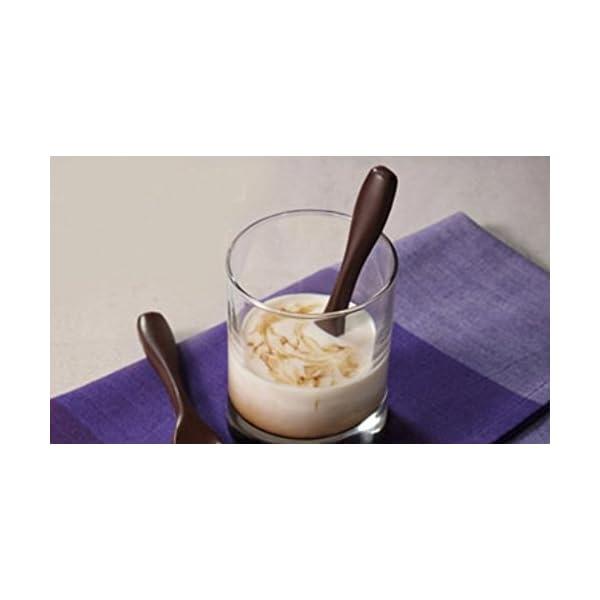 Stonges, 2 pezzi, stampo per dolci al cioccolato a forma di cucchiaio, stampo per gelato, stampo per cottura al forno 3 spesavip