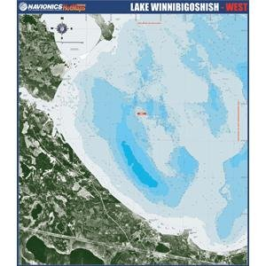 Navionics Paper Map: Lake Winnibigoshish - West (Navionics Paper Map)